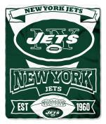 New York Jets 50x60 Marque Design Fleece Blanket