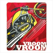 Motorcycle Throw Blanket