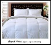Royal Hotel's Goose-Down-Alternative Comforter - Duvet Insert, 300-Thread-Count 100% Down Alternative Fill