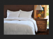 Natural Comfort Classic White Goose Down Feather Comforter