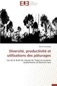 Diversite, Productivite Et Utilisations Des Paturages [FRE]