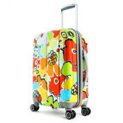 Olympia Luggage Blossom 60cm Expandable Vertical Rolling Upright Bag