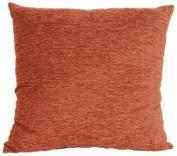 Brentwood 3438 Crown Chenille Floor Cushion, 60cm , Rust