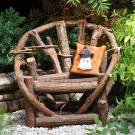 Miniature Fairy Garden Pillow, Ghost