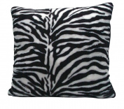 Scene Weaver Journey Decorative Oversized Pillow, Zebra, 60cm by 60cm
