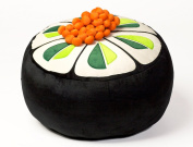 Sushiami Cucumber Pouffe with Salmon Roe
