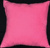 Bubble Gum Pink NuAngel Decorative Throw Pillow, 17 x 17, 100% Cotton Flannel