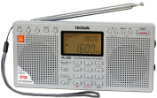 Tecsun PL-390 DSP Digital AM/FM/LW Shortwave Radio with Dual Speakers, Silver