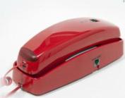 Red Slim Line Telephone