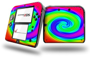 Rainbow Swirl - Decal Style Vinyl Skin fits Nintendo 2DS - 2DS NOT INCLUDED