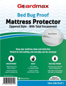 Guardmax - Bedbug Proof/Waterproof Mattress Protector Cover - Zippered Style - Quiet!