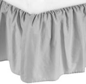 American Baby Company 100% Cotton Percale Portable Mini Crib Skirt