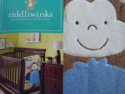 Tiddliwinks Safari Friends 3pc Baby Crib Bedding Set - Green/Brown