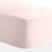 Carousel Designs Pink Satin Charmeuse Crib Sheet