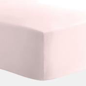 Carousel Designs Solid Pink Crib Sheet