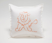 Live Good Lion Baby Pillow - 100% Certified Organic Premium Pillow - Made in California - Non-toxic