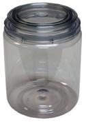 E-Z View Clear Plastic Paint Can, Quart EMX-10032