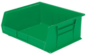 Akro-Mils 30235 Plastic Storage Stacking Hanging Akro Bin, 28cm by 28cm by 13cm , Green, Case of 6