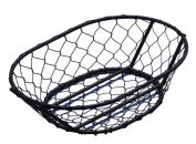 American Metalcraft WIR4 Oblong Chix Wire Basket, Black