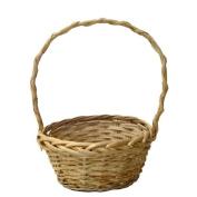Natural Willow Handle Basket - 20cm
