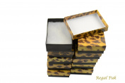 Regal Pak ® 10-Piece Leopard Print Cotton Filled Box 8.3cm x 5.7cm x 2.5cm H