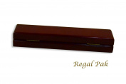 Regal pak ® one-piece jefferson collection premium rosewood bracelet box 23cm x 5.7cm x 3.5cm