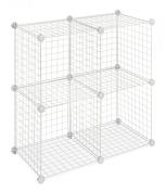 Whitmor 4 Storage Cubes