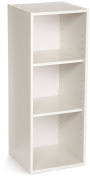 ClosetMaid 8987 Stackable 3-Shelf Organiser, White