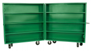 Greenlee 5860 Storage Cabinet, Bi-Fold, 150cm By 150cm By 38cm