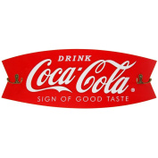 Coca-Cola Wooden Sign & Coat Rack