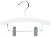25cm White Baby/Infant Combination Hanger [ Bundle of 25 ]