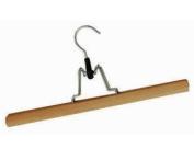 Felt Lined Wooden Kilt Hanger Secure Metal Clamp