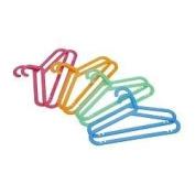 Children's Kids Coat-hangers Assorted Colours, Set of 8