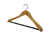 Deluxe Natural Wood Suit Hanger