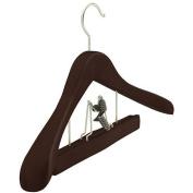 Wood Clamp Deluxe Suit Hanger Colour