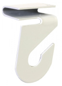 Hillman Fasteners 122323 Ceiling Track Hanger Hooks Suspends Signs and Mobiles from Drop-ceiling T-Bars