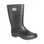Ez-Flo 83112 Size 9 Black Short Rubber Water Boot