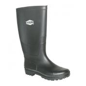 Ez-Flo 83119 Size 9 Black Long Rubber Water Boot