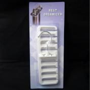 Belt Organiser 8 Slots Rack Hanger Closet New Holder Neck Tie Rack Hook Hanger !