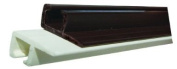 JR Products 80281 Type-C White 120cm Ceiling Mounted Internal Slide Track