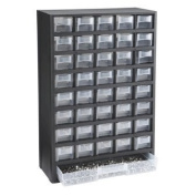 Storehouse 40 Bin Organiser with Full Length Drawer