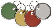 Avery Assorted Split Ring Metal Rim Key Tag , 3.2cm , Pack of 50
