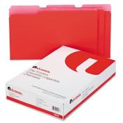 Universal Coloured Top Tab File Folders