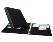 Avery Heavy-Duty Binder with 2.5cm One Touch EZD Ring, Black, 1 Binder
