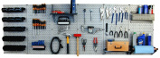 Wall Control 30-WRK-800GB Master Workbench Metal Pegboard Tool Organiser