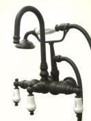 Kingston Brass CC9T5 Vintage Leg Tub Filler with Hand Shower, Oil Rubbed Bronze