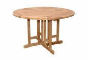 Bahama Round Butterfly Folding Dining Table