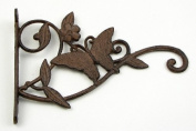 Rust Cast Iron Butterfly Hanger