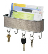 InterDesign Wall Mount, Mail and Key Rack