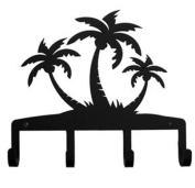 Wrought Iron Palm Trees Key Rack